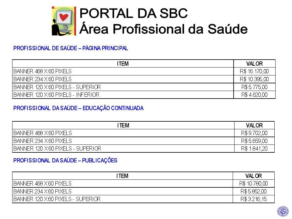 PORTAL DA SBC Área Profissional da Saúde