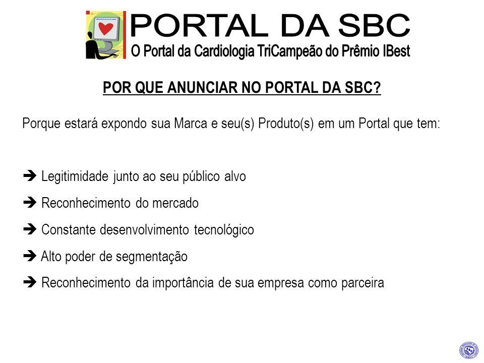 POR QUE ANUNCIAR NO PORTAL DA SBC