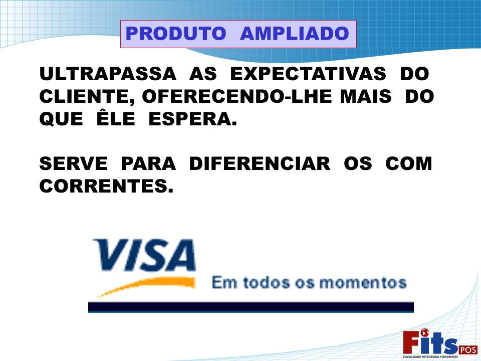 PRODUTO AMPLIADO ULTRAPASSA AS EXPECTATIVAS DO. CLIENTE, OFERECENDO-LHE MAIS DO. QUE ÊLE ESPERA.