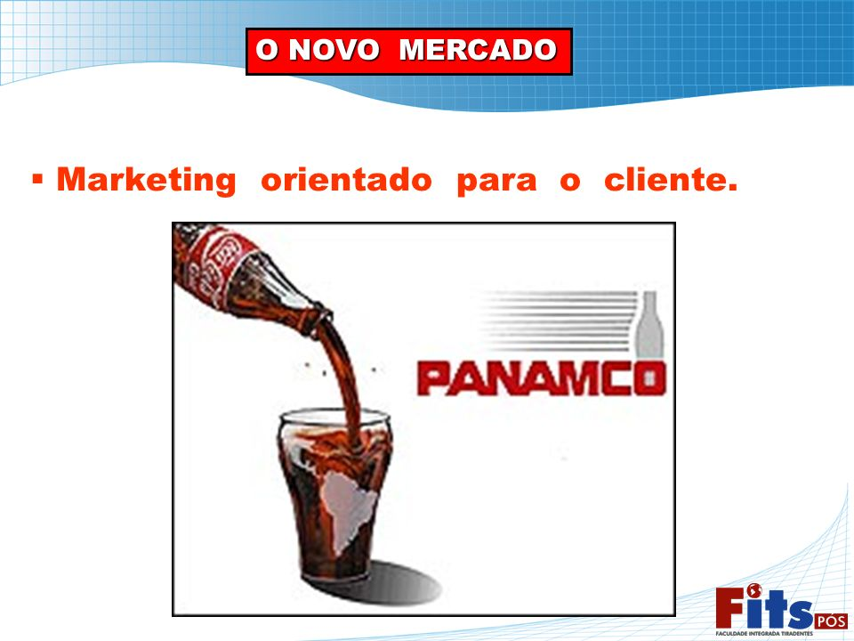 Marketing orientado para o cliente.