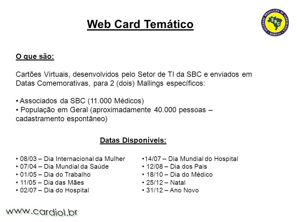 Web Card Temático O que são:
