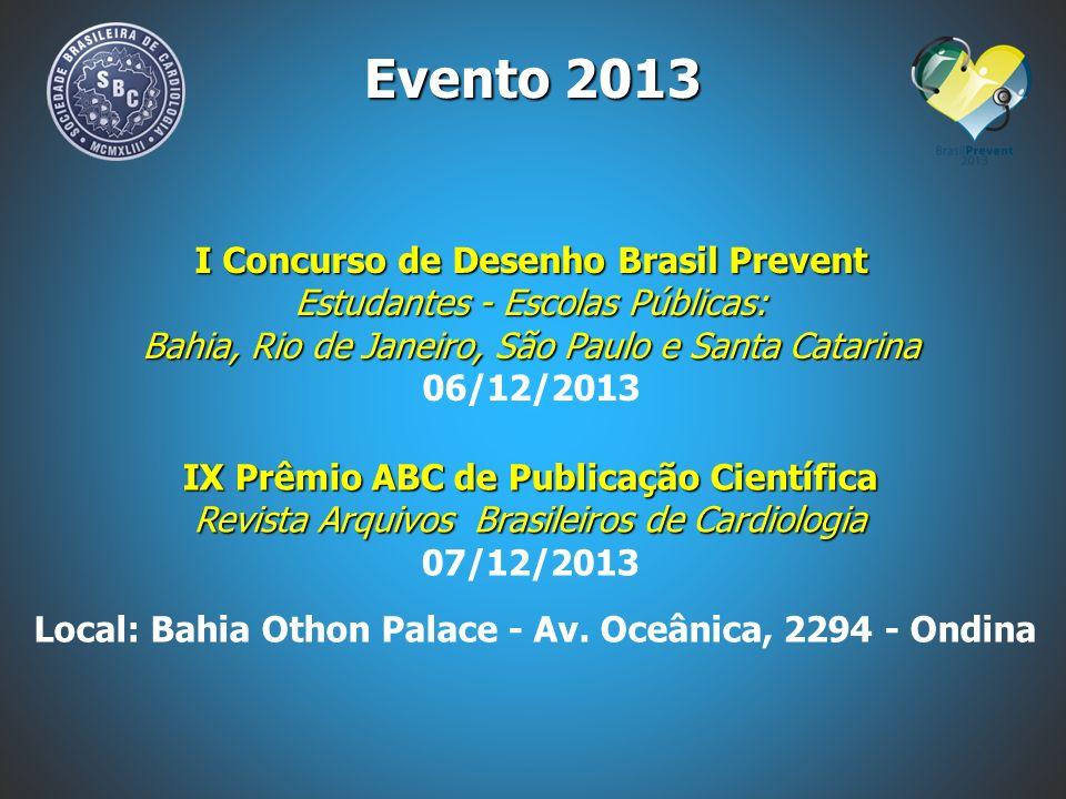 Evento 2013 I Concurso de Desenho Brasil Prevent