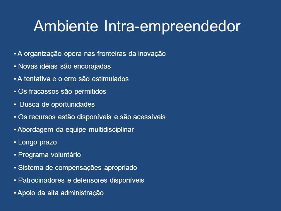 Ambiente Intra-empreendedor