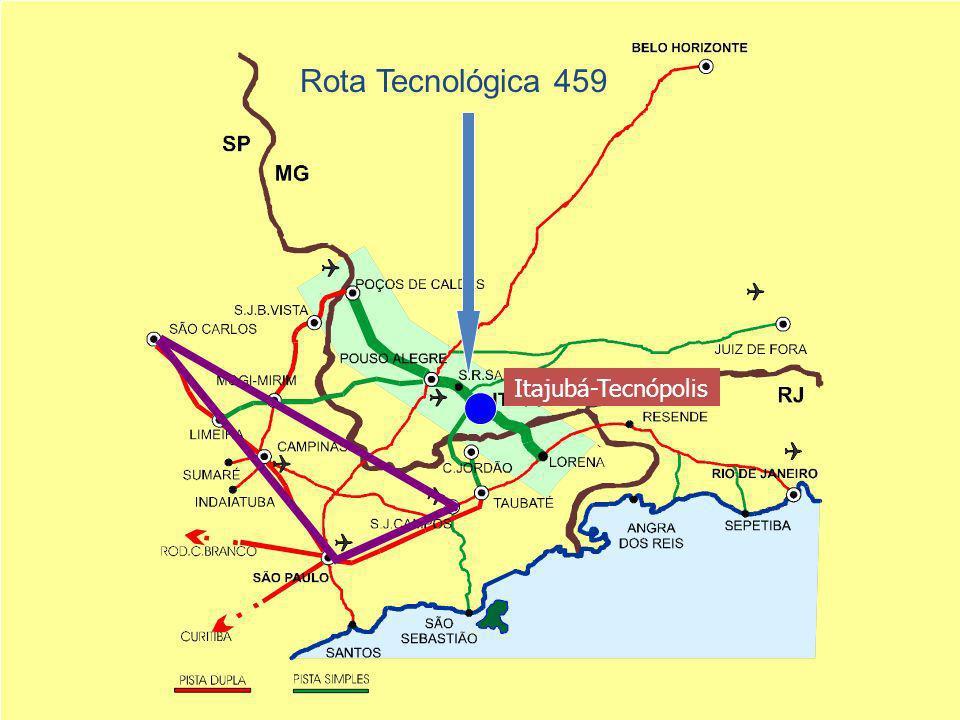 Rota Tecnológica 459 Itajubá-Tecnópolis