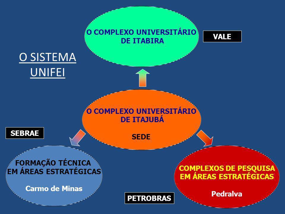 O COMPLEXO UNIVERSITÁRIO O COMPLEXO UNIVERSITÁRIO