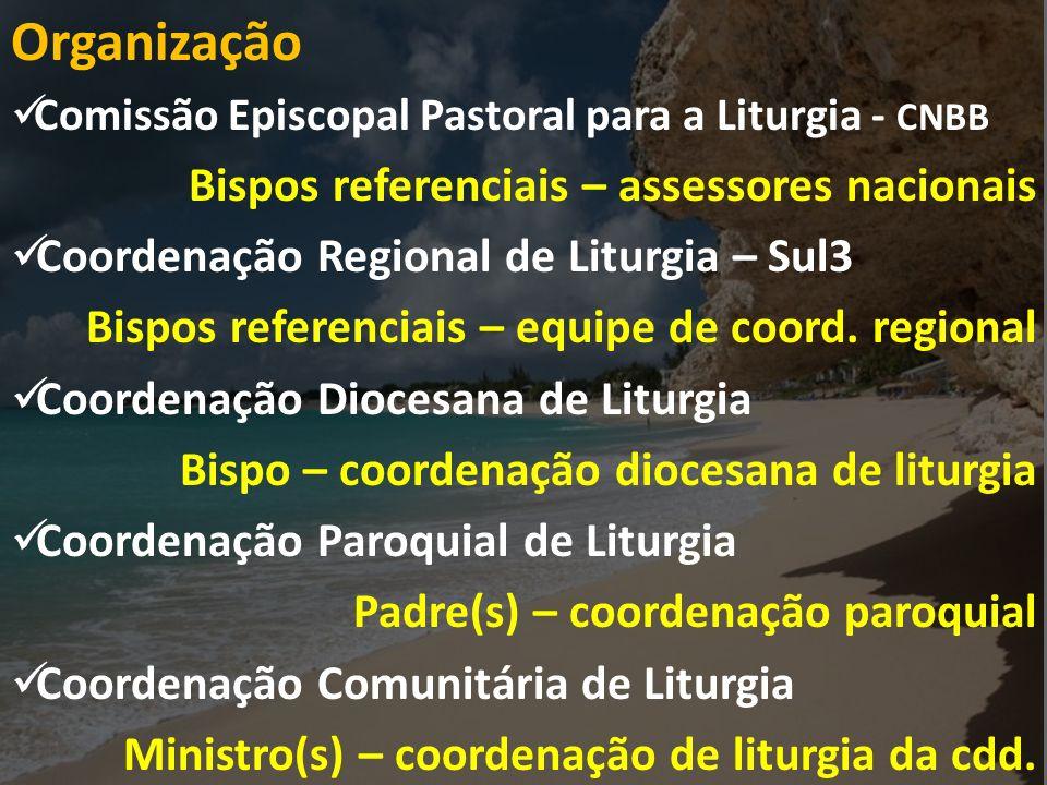 Organização Bispos referenciais – assessores nacionais