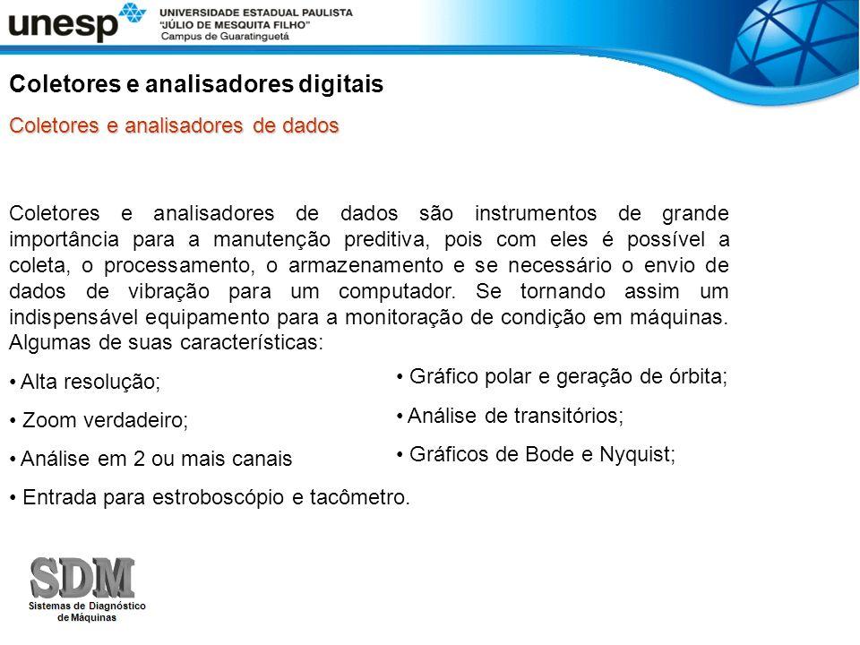 Coletores e analisadores digitais