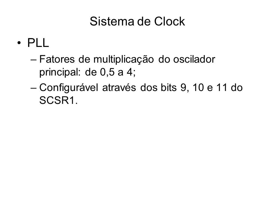 Sistema de Clock PLL.