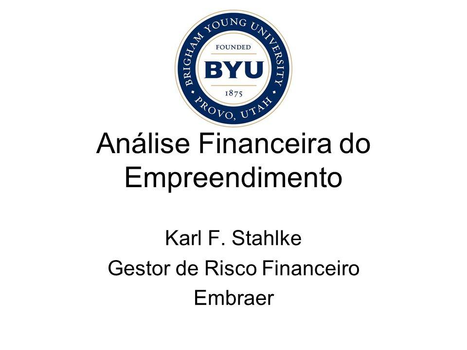 Análise Financeira do Empreendimento