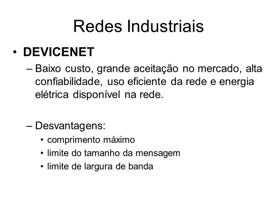 Redes Industriais DEVICENET