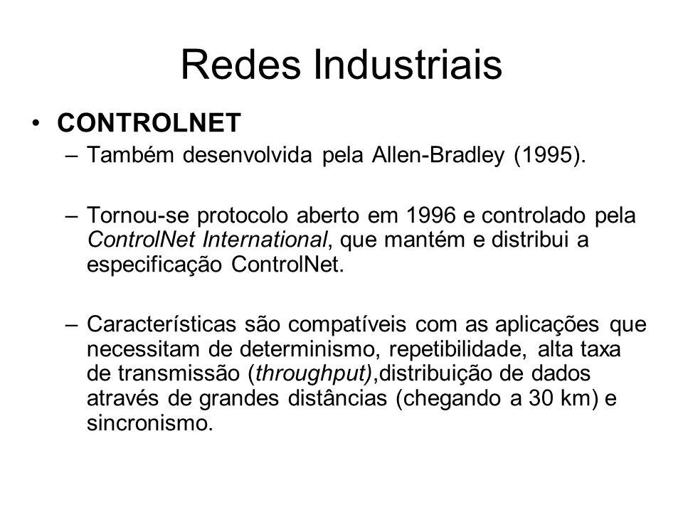 Redes Industriais CONTROLNET