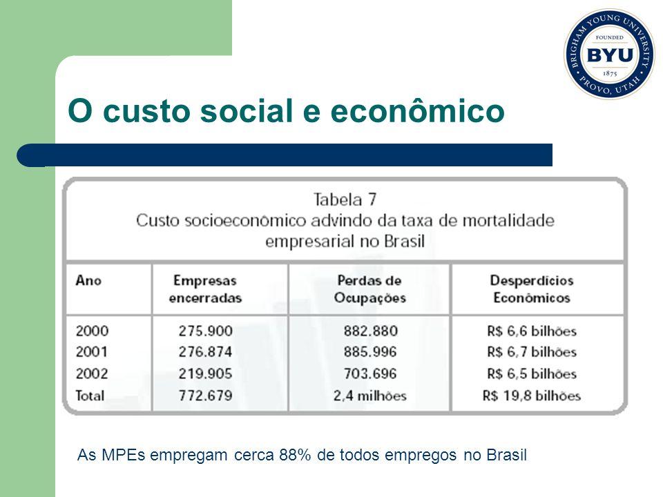 O custo social e econômico