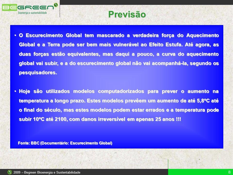 2009 – Begreen Bioenergia e Sustentabilidade