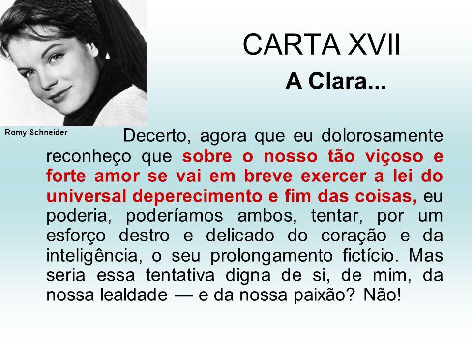 CARTA XVII A Clara...