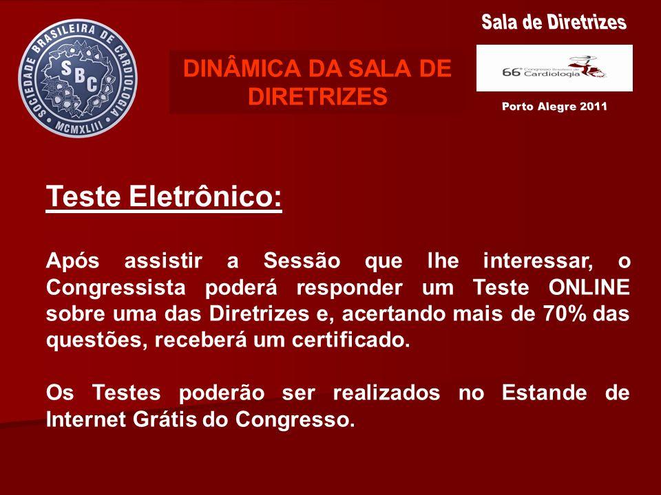 DINÂMICA DA SALA DE DIRETRIZES
