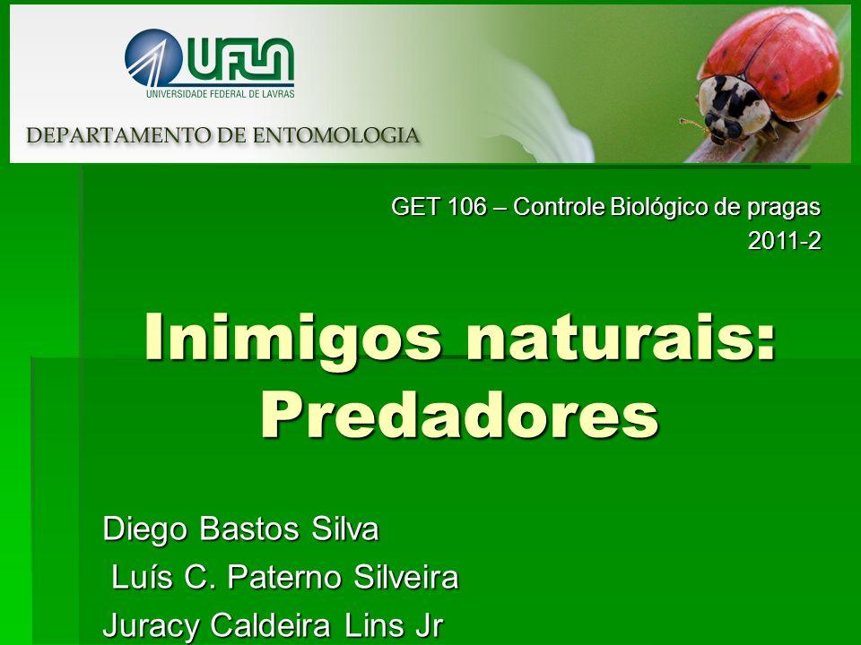 Inimigos naturais: Predadores