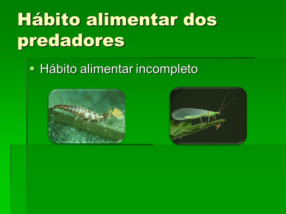 Hábito alimentar dos predadores