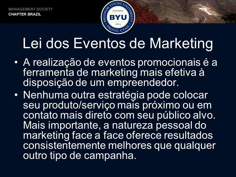Lei dos Eventos de Marketing