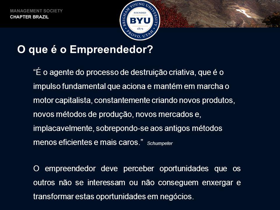 O que é o Empreendedor