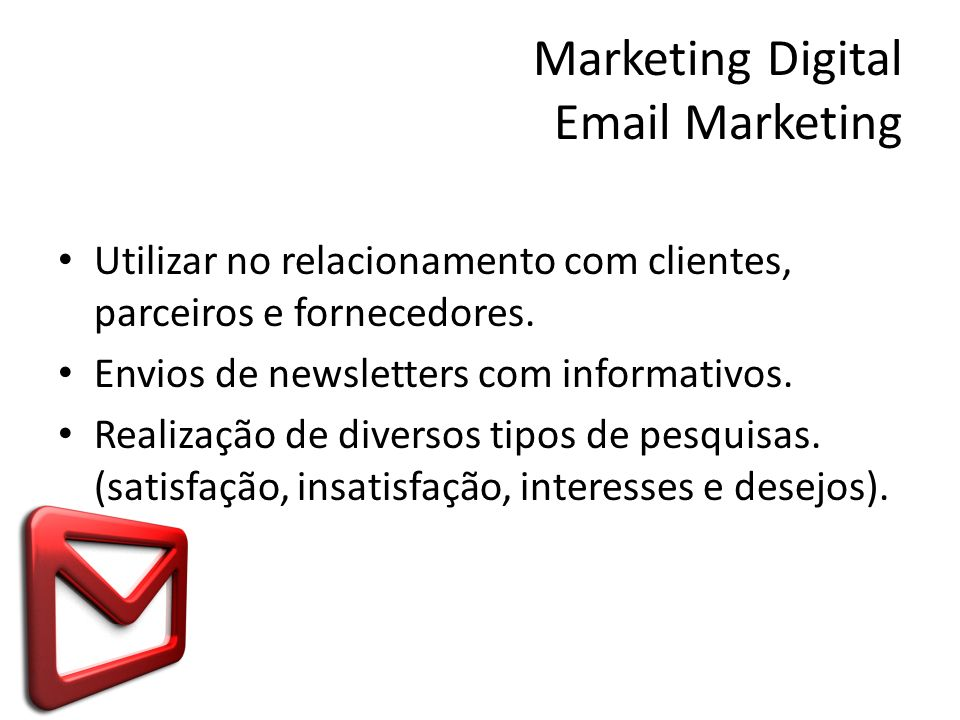 Marketing Digital Email Marketing