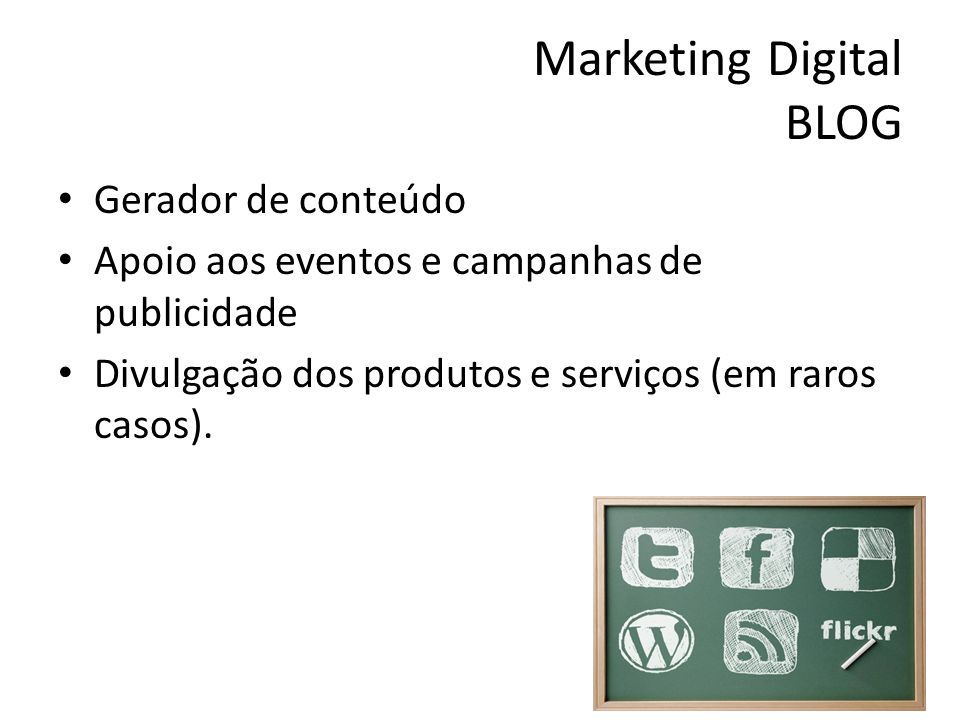 Marketing Digital BLOG
