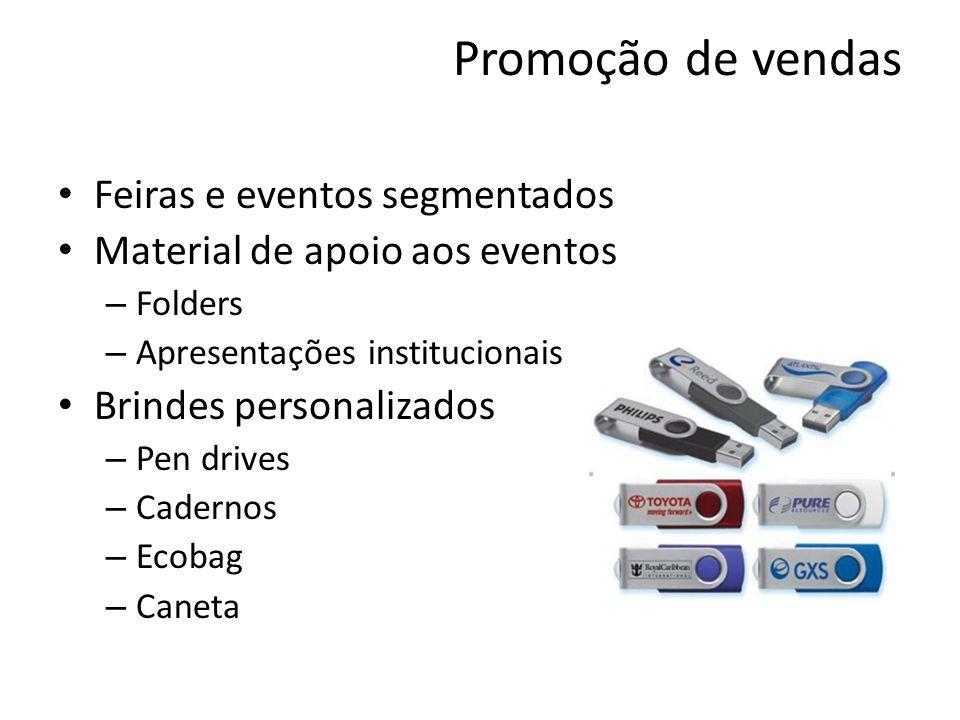 Promoção de vendas Feiras e eventos segmentados