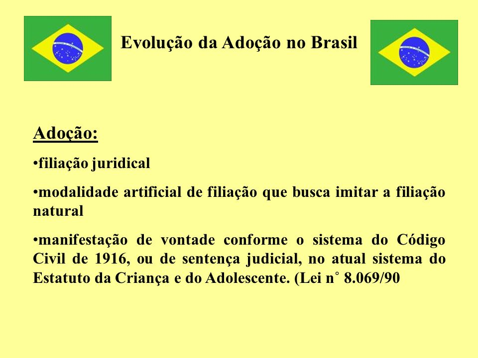Evolução da Adoção no Brasil