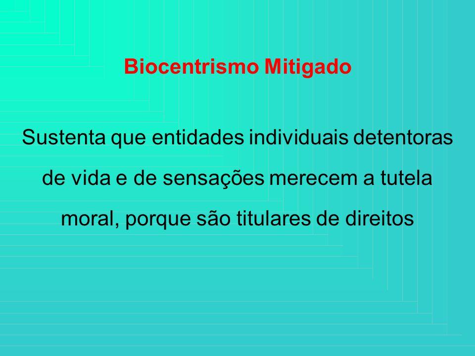 Biocentrismo Mitigado
