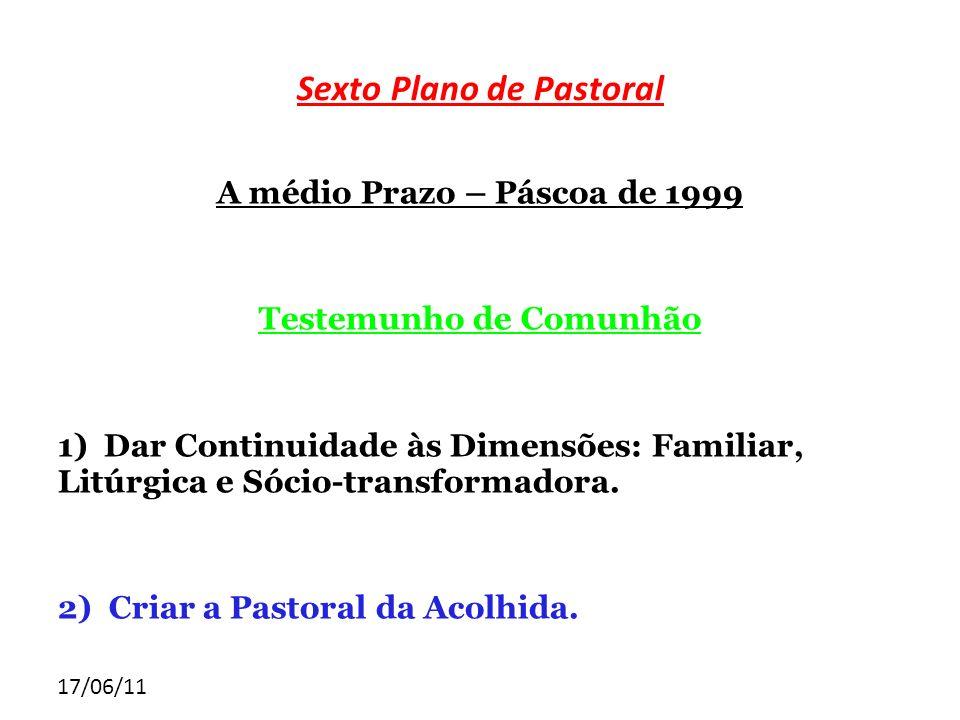 Sexto Plano de Pastoral