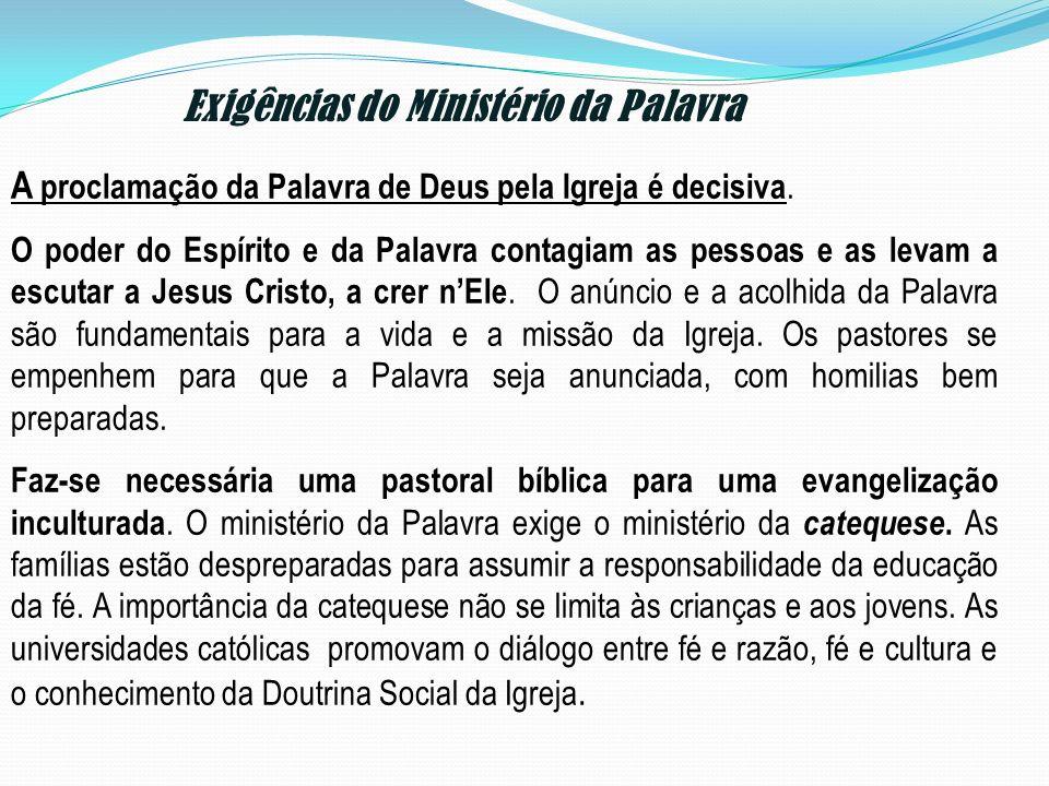 Exigências do Ministério da Palavra