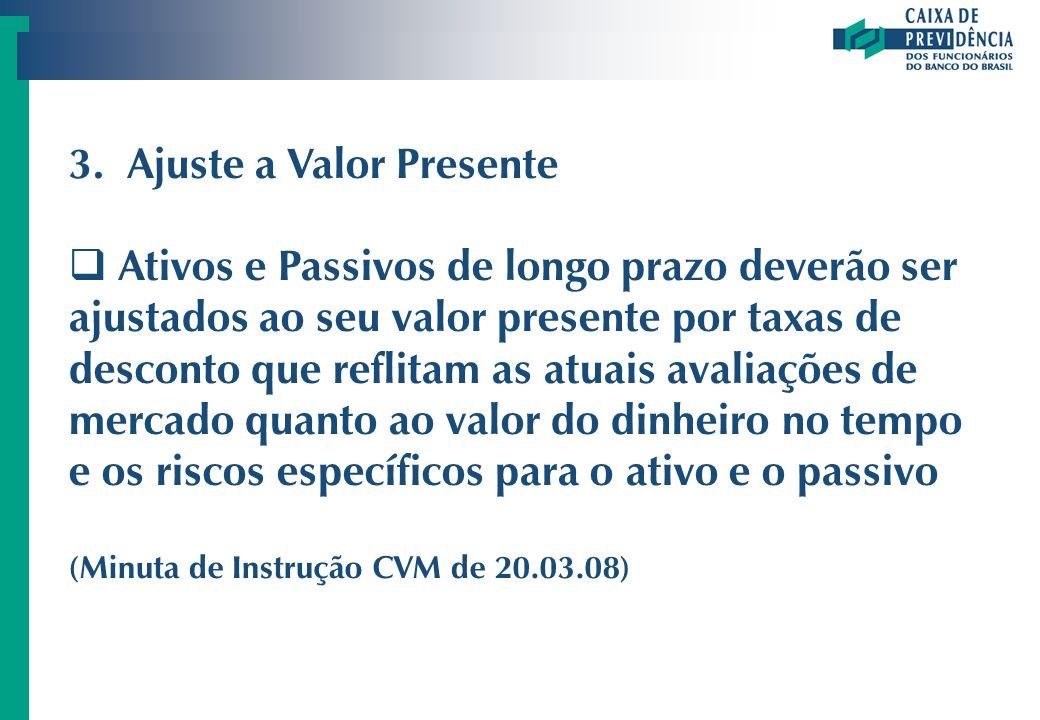 3. Ajuste a Valor Presente
