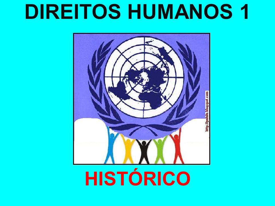 DIREITOS HUMANOS 1 HISTÓRICO