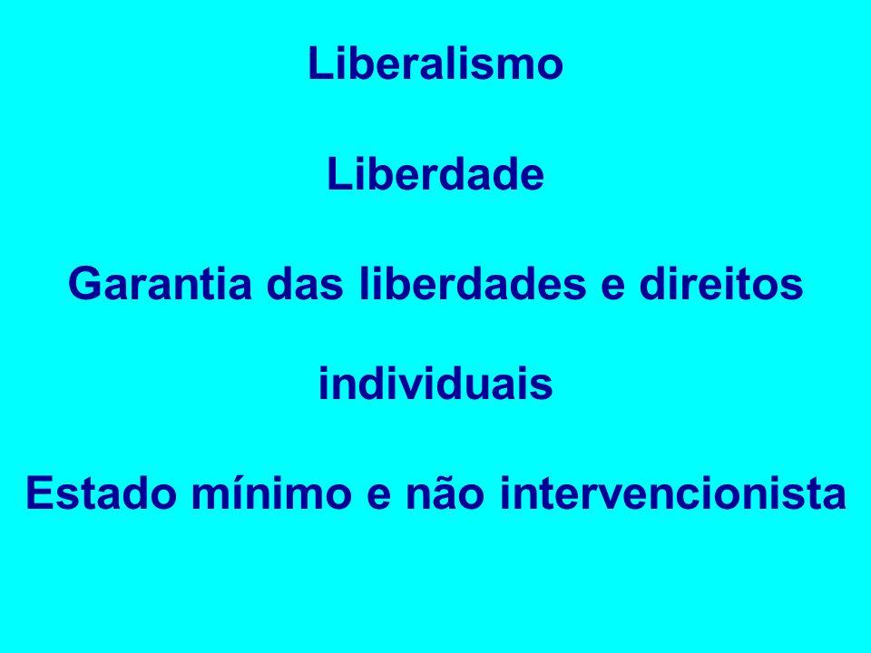 Garantia das liberdades e direitos individuais