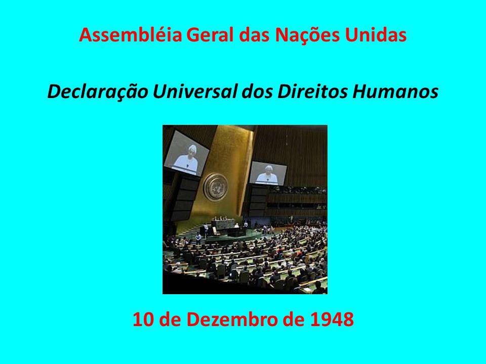 Assembléia Geral das Nações Unidas