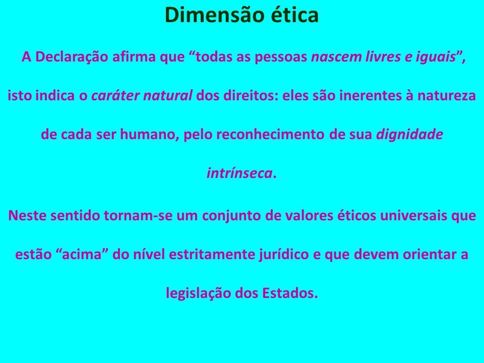 Dimensão ética