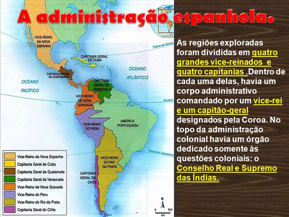A administração espanhola.
