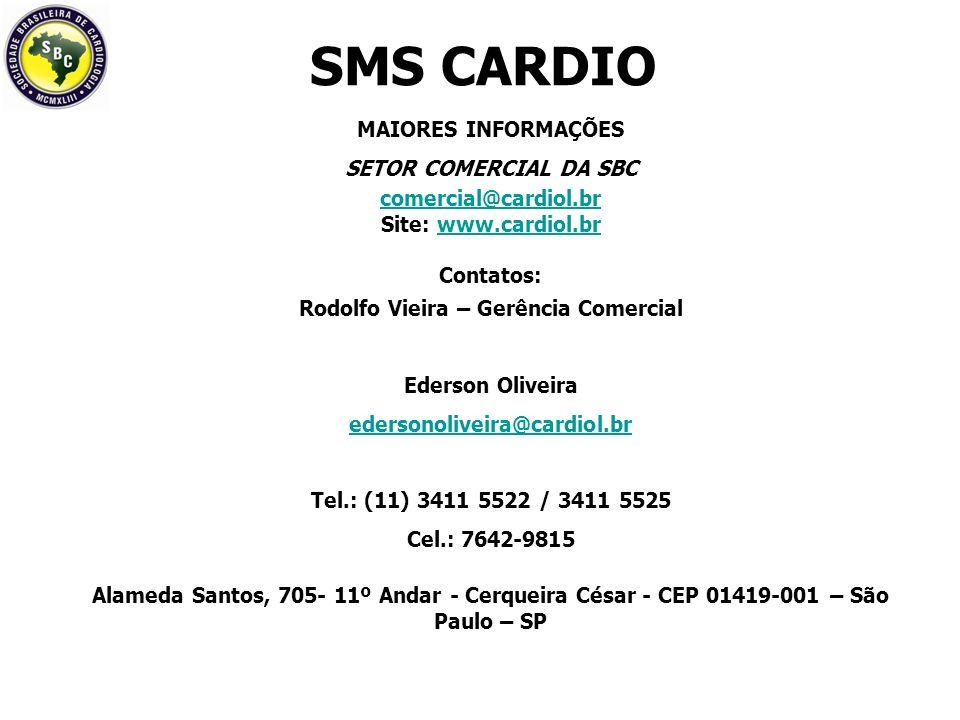 Rodolfo Vieira – Gerência Comercial
