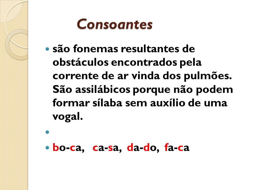 Consoantes