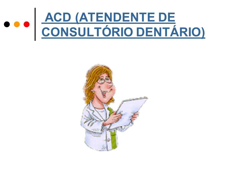 ACD (ATENDENTE DE CONSULTÓRIO DENTÁRIO)