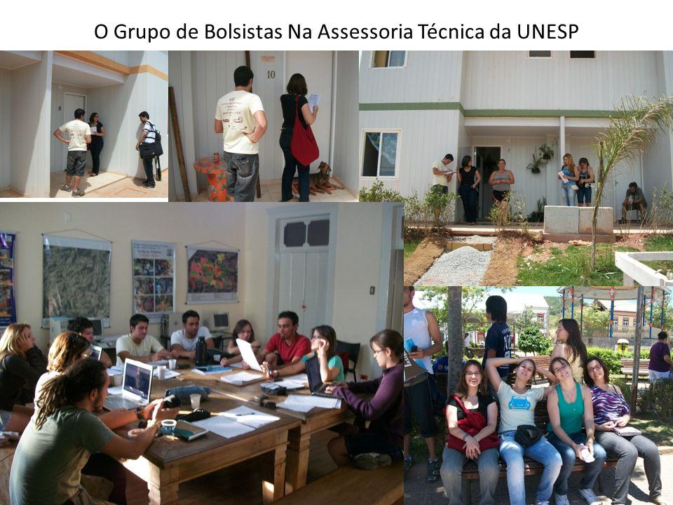 O Grupo de Bolsistas Na Assessoria Técnica da UNESP