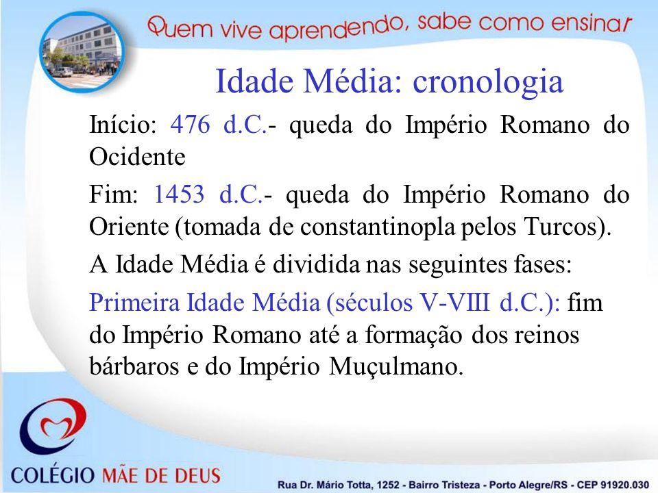 Idade Média: cronologia