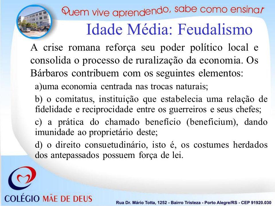 Idade Média: Feudalismo