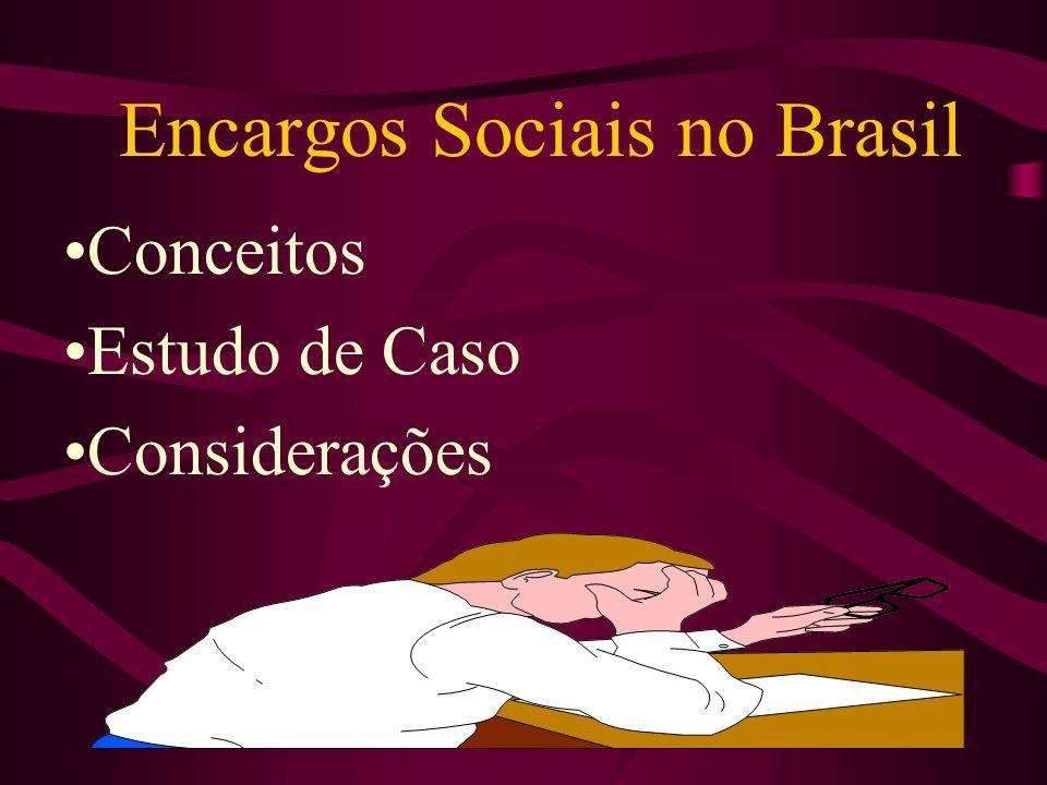 Encargos Sociais no Brasil
