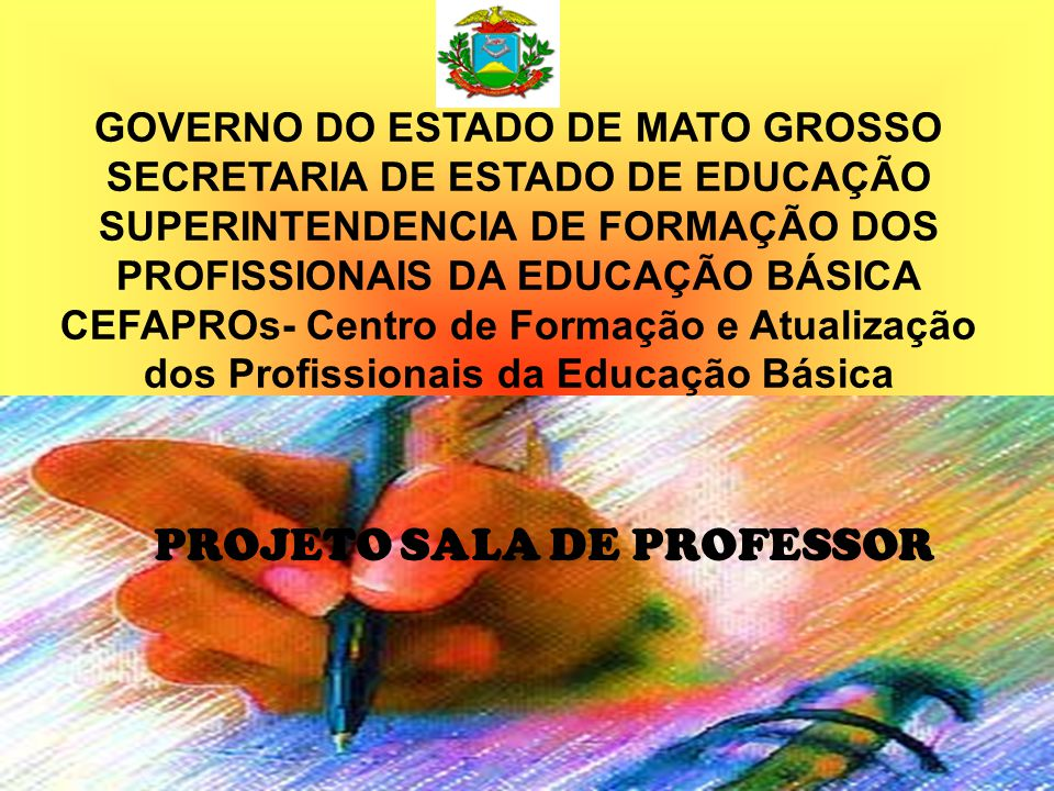 PROJETO SALA DE PROFESSOR