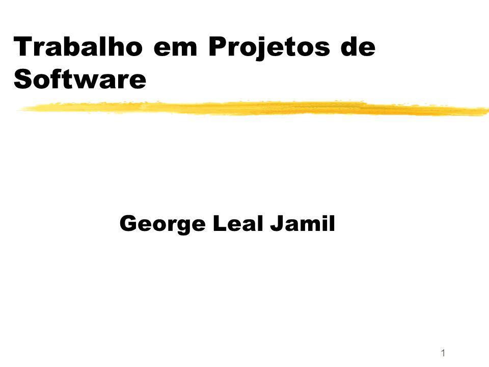 Trabalho em Projetos de Software