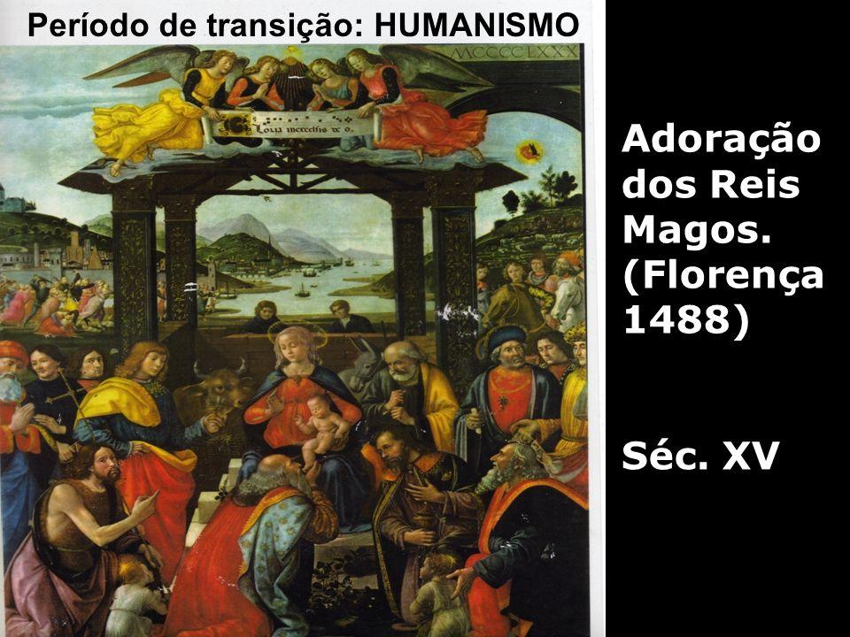 Adoração dos Reis Magos. (Florença 1488)