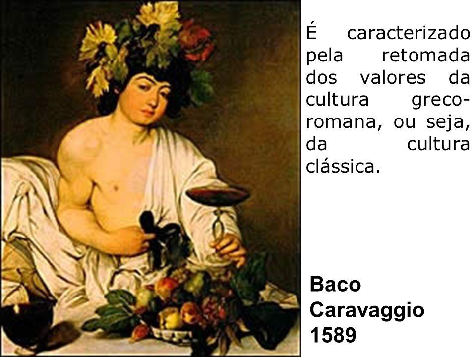 É caracterizado pela retomada dos valores da cultura greco-romana, ou seja, da cultura clássica.