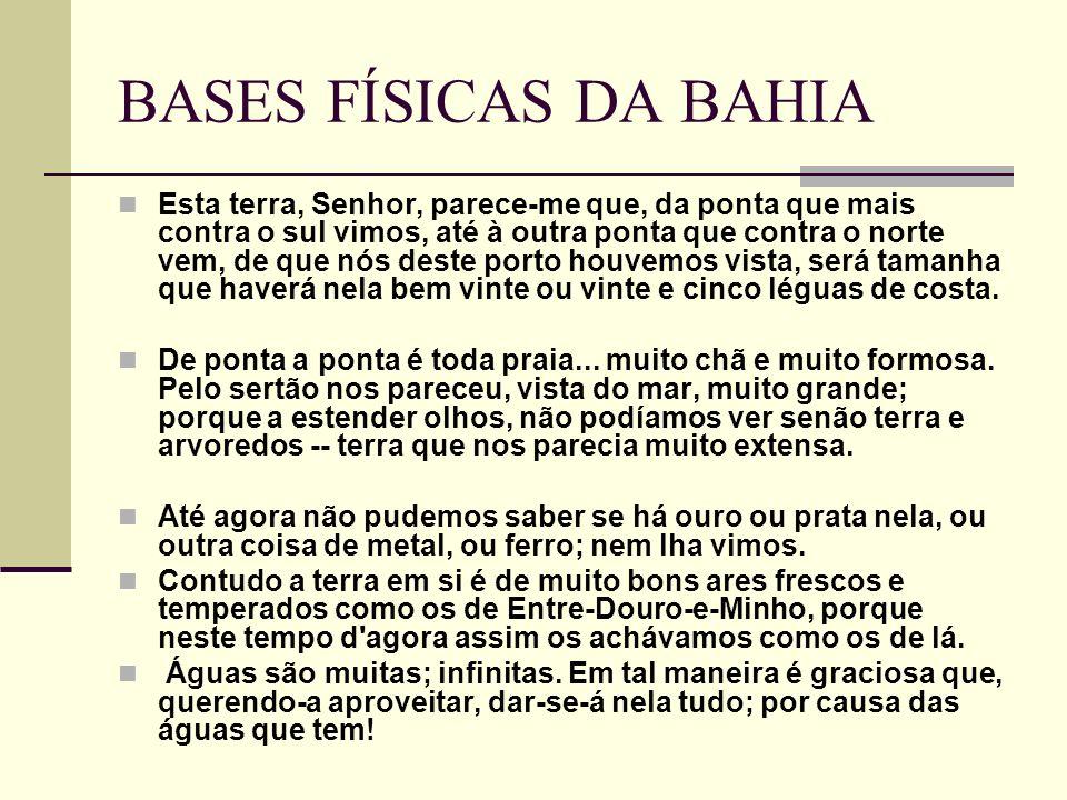 BASES FÍSICAS DA BAHIA