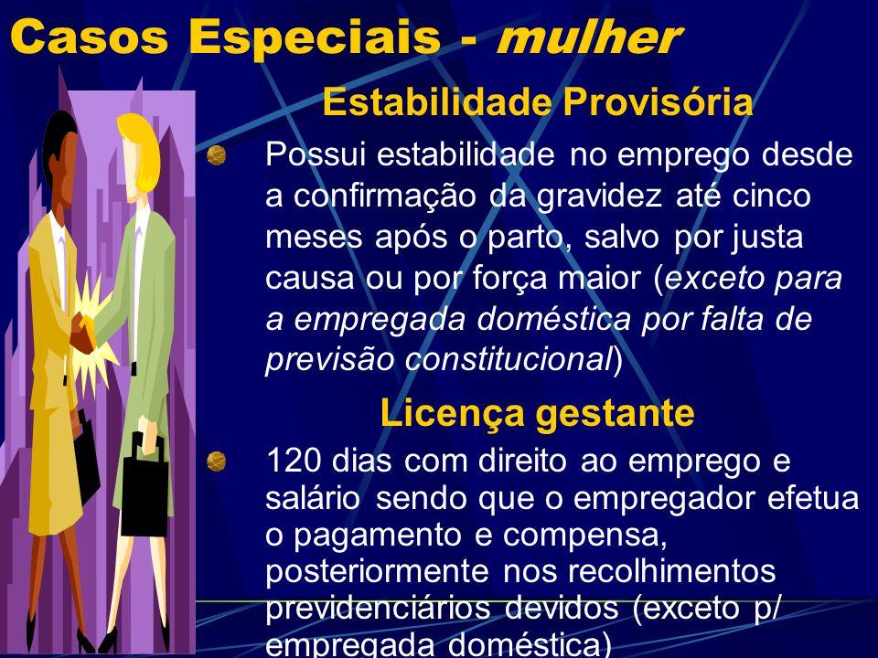Casos Especiais - mulher