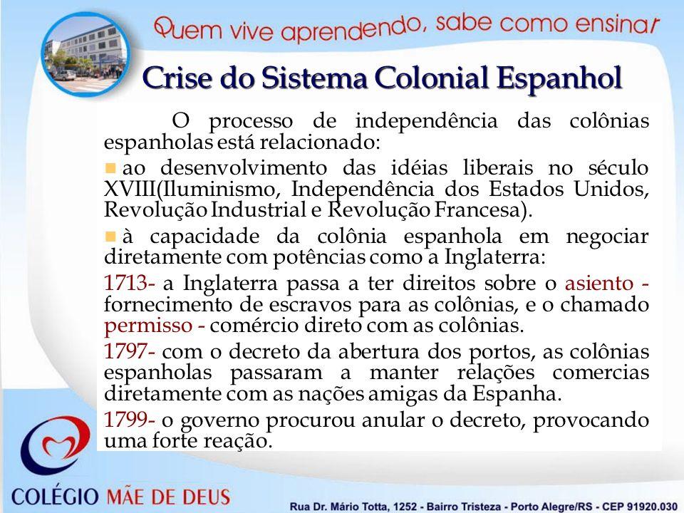 Crise do Sistema Colonial Espanhol